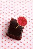 De Chocolade Brownies van de whisky Stock Afbeeldingen