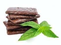 De chocolade en de munt van de mengeling Stock Foto