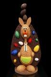 De chocolade toont het werk Stock Fotografie