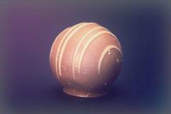 De chocolade van de Delliciousluxe op een donkere achtergrond Stock Afbeelding