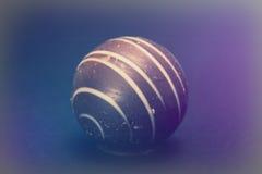 De chocolade van de Delliciousluxe op een donkere achtergrond Stock Foto