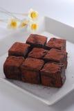 De chocolade van de truffel Royalty-vrije Stock Afbeelding
