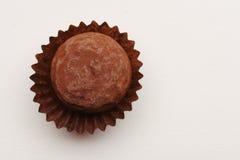 De chocolade van de truffel Stock Afbeelding