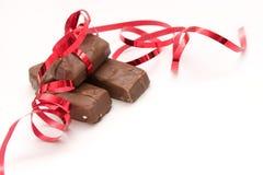 De chocolade van de verjaardag stock afbeeldingen