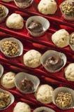 De chocolade van het huissuikergoed Stock Fotografie