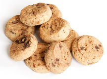 De Chocolade van het koekje Stock Afbeeldingen