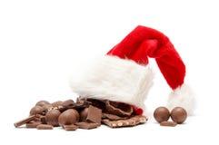 De chocolade van Kerstmis stock foto