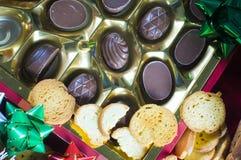 De chocolade van Kerstmis   Royalty-vrije Stock Foto's