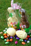 De Chocolade van Pasen Stock Foto's