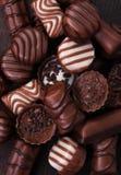 De chocolade van de snoepjespraline Stock Foto's