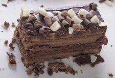 De chocoladecake van Nice Royalty-vrije Stock Foto's