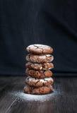 De chocoladekoekjes Stock Afbeelding