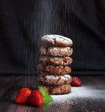 De chocoladekoekjes Stock Foto's