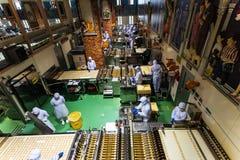 de chocoladeproduct van de bakkersopbrengst, Sapporo stock afbeeldingen