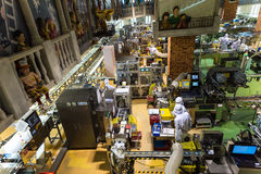 de chocoladeproduct van de personeelsopbrengst, Sapporo stock fotografie