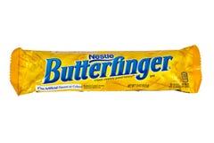 De Chocoladereep van Nestle Butterfinger Stock Afbeelding