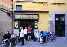 De chocoladewinkel van San Gines Royalty-vrije Stock Foto's
