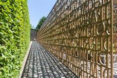 De christelijke tuin, Tuinen van de wereld, Berlijn Stock Foto's