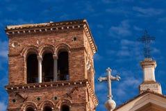 De christen kruist godsdienstige symbolen royalty-vrije stock foto