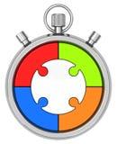 De chronometer Royalty-vrije Stock Fotografie