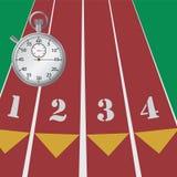 De chronometer van de sport. Stock Afbeelding
