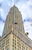 De Chrysler-Bouw, Kunst een Deco-Stijl wolkenkrabber in Manhattan Gebouwd in 1930 Stock Afbeelding