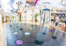 De Chrystals-wandelgalerij in Las Vegas Stock Foto