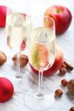 De Cider van de appel royalty-vrije stock foto's