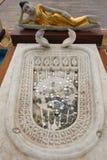 De cijfers van Boedha in de Seema Malaka-tempel van Colombo in Sri Lanka Royalty-vrije Stock Afbeeldingen