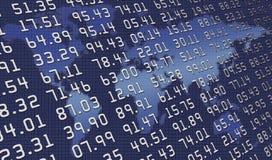 De cijfers van de wereld Royalty-vrije Stock Foto