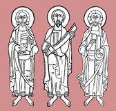 De cijfers van heilige Stock Foto's