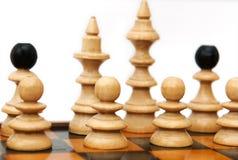 De cijfers van het schaak Stock Foto