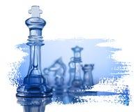 De cijfers van het schaak vector illustratie
