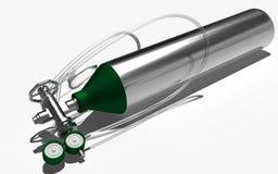 De cilinder van de zuurstof Royalty-vrije Stock Foto