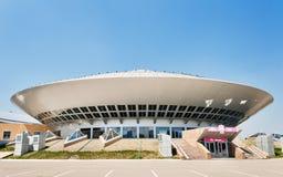 De circusbouw in Astana stock afbeeldingen