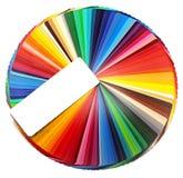 De cirkel van de kleur stock afbeeldingen