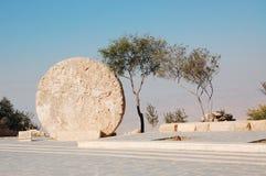 De cirkel van de steen Stock Afbeelding