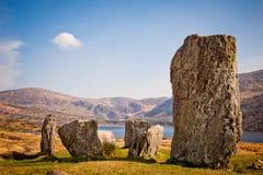De cirkel van de steen, Ierland stock afbeelding