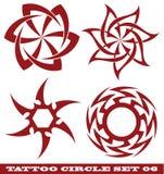 De cirkel van de tatoegering Stock Foto