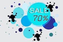 De cirkel van de verkoopprijs Stock Foto's