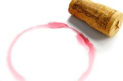 De cirkel van de wijn Stock Afbeeldingen