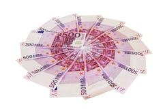 De cirkel van het geld Royalty-vrije Stock Foto