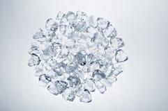 De cirkel van ijsblokjes Stock Afbeelding