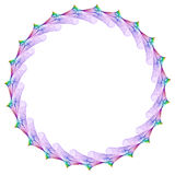 De Cirkel van Mandala Royalty-vrije Stock Foto's