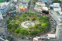 De Cirkel van Osmena van Fuente Stock Afbeelding