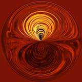 De Cirkel van rimpelingen Stock Afbeeldingen