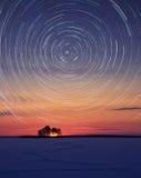 De cirkel van sterren Stock Afbeelding