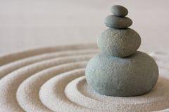 De cirkel van Zen Stock Foto's
