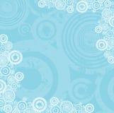 De cirkelachtergrond van Grunge Royalty-vrije Stock Fotografie