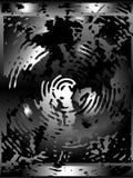 De cirkelachtergrond van ?hrome royalty-vrije illustratie